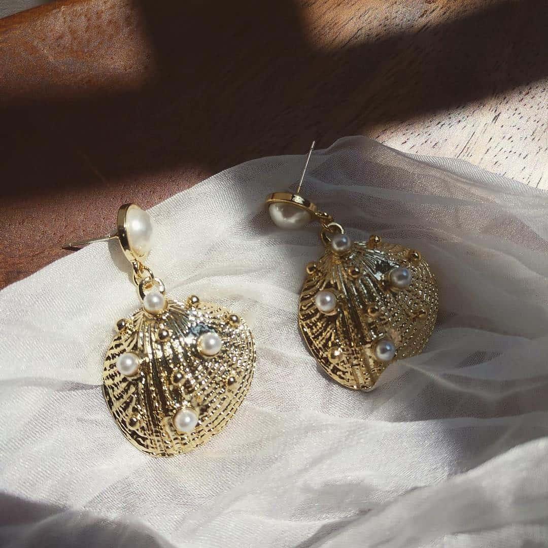 Ariel Seashell Earring