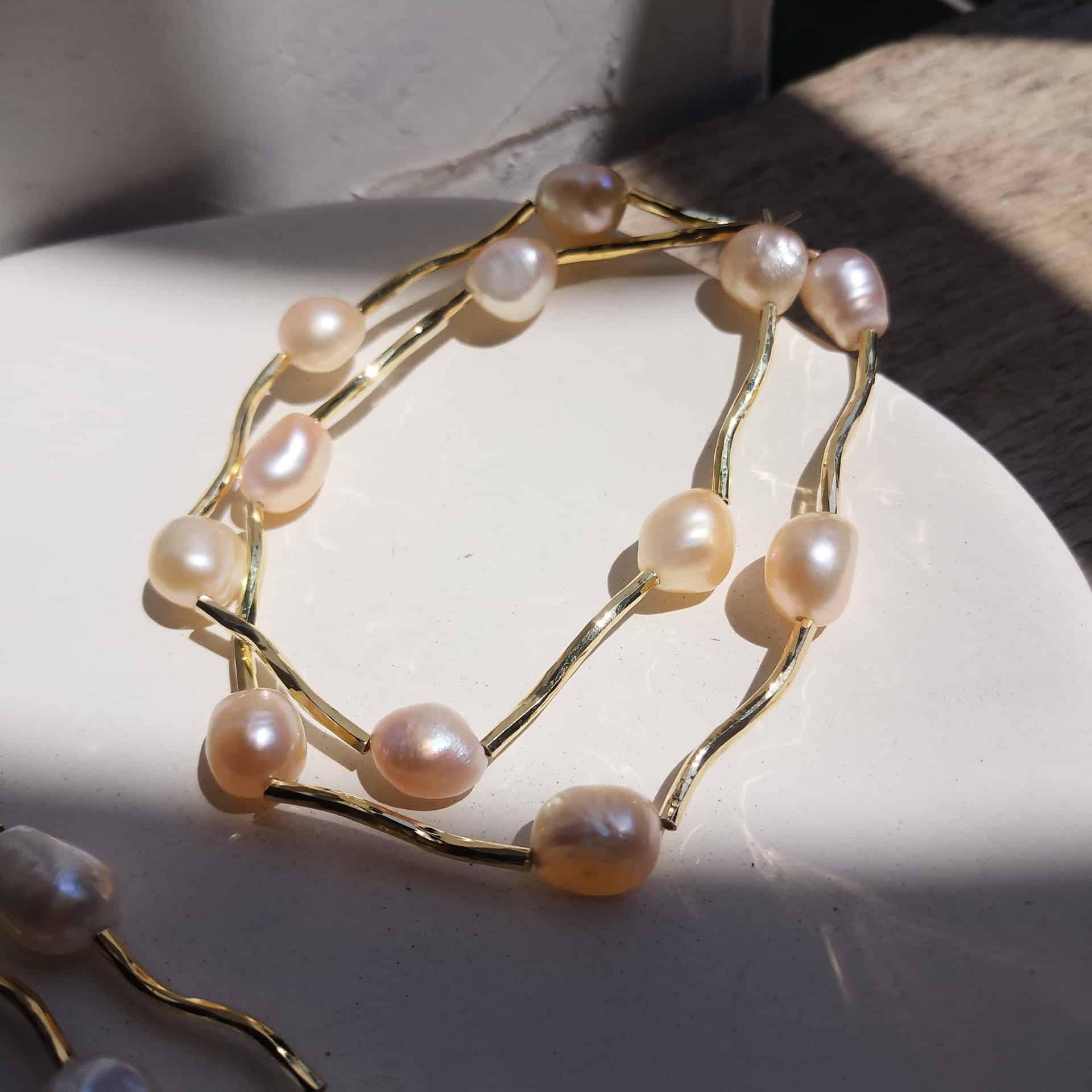 Le Passé Freshwater Pearl Bracelet