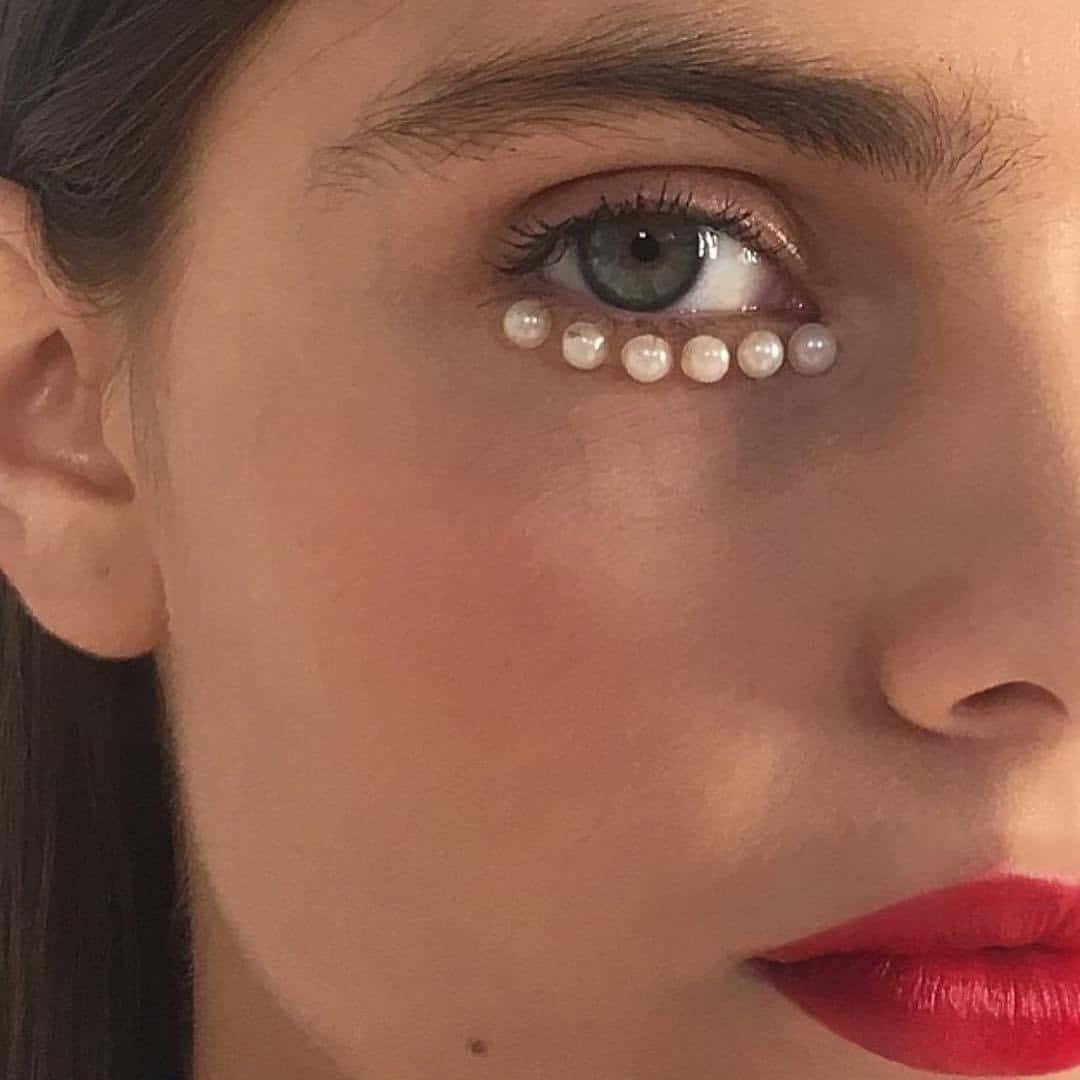 Pearl Makeup Sticker Kula