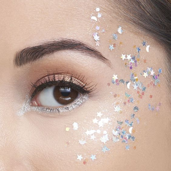 Stardust Glitter Makeup Kamakula