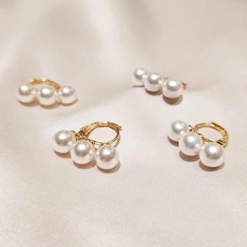 Daisy Pearl Earring