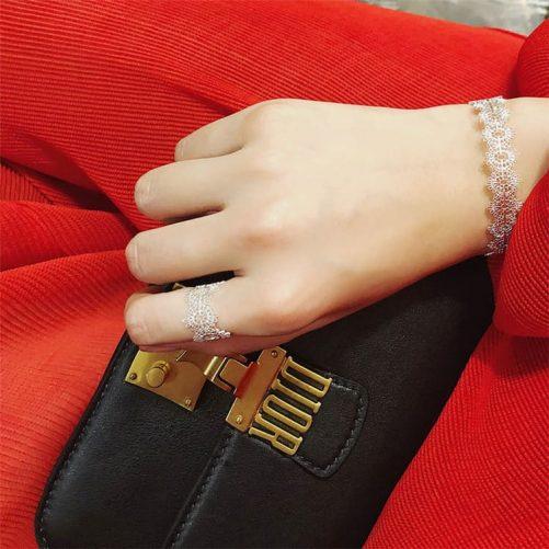Fragile Allure Lace Bracelet