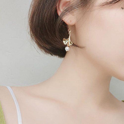 Jardins en Automne Leaf Earring